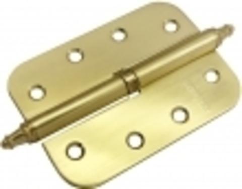 Петля разъёмная стальная скругленная с короной MS-C 100X70X2.5 SG