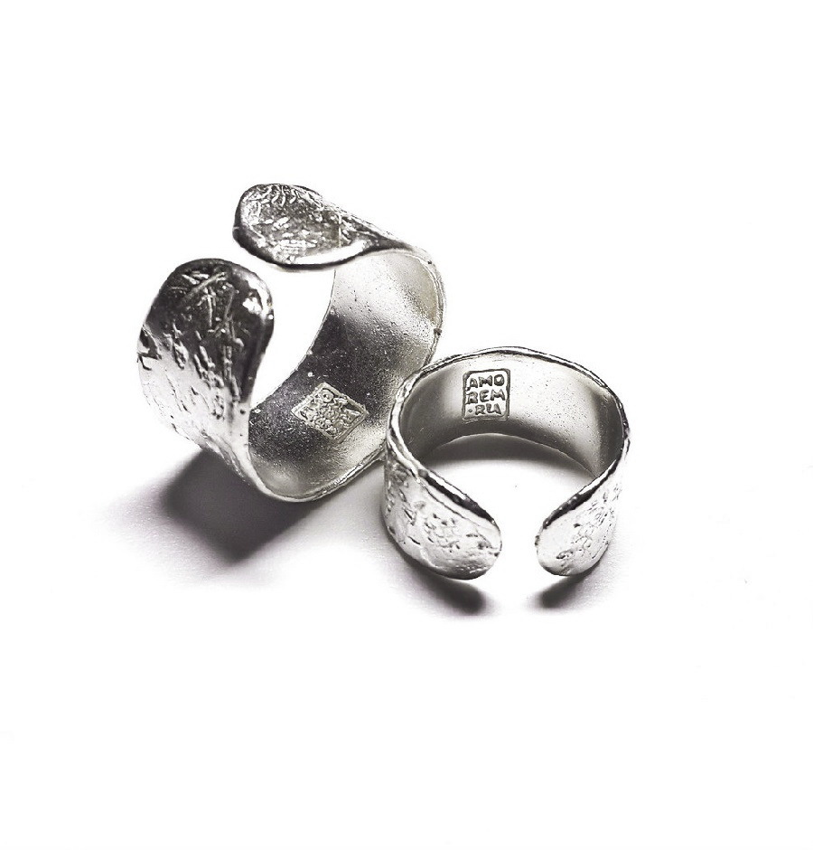 Phalanx Ring Ingot, the small one, Sterling Silver