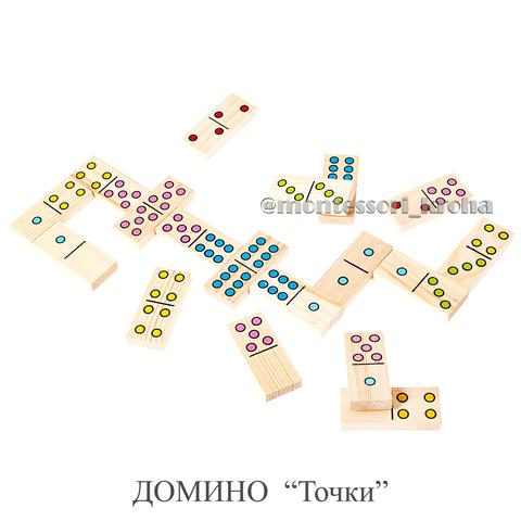 Настольная игра ДОМИНО «Точки»