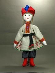 Текстильная кукла Крестьянский мальчик