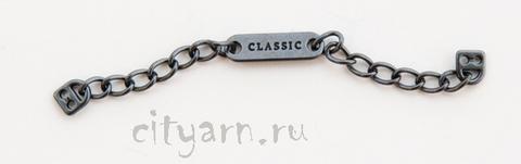 Вешалка для одежды металлическая, с надписью