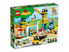 Lego konstruktor Duplo Tower Crane & Construction