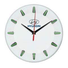 Настенные часы с эмблемой Hyundai 07