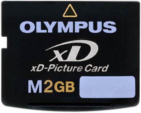 Olympus xD-Picture Card M-XD2GP