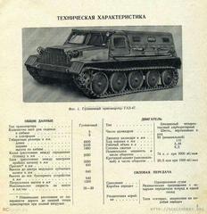 GAZ-47 GT-S 1954 Crawler Transporter 1:43 Start Scale Models (SSM)