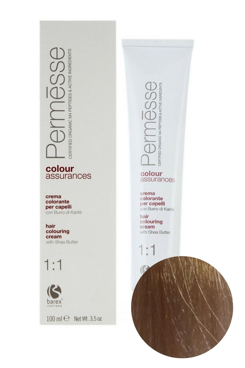 Крем-краска для волос 9.7 Суперсветлый блондин фиолетовый Permesse, Barex