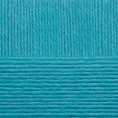 Купить Пряжа Пехорка Детский каприз Код цвета 583-Бирюза | Интернет-магазин пряжи «Пряха»