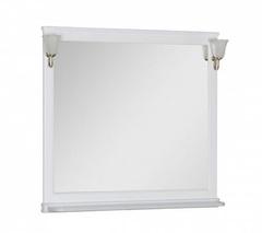 Зеркало Aquanet Валенса 110 белое матовое