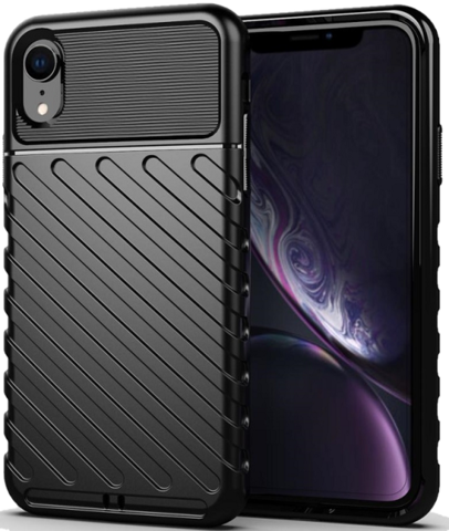 Чехол для iPhone XR цвет Black (черный), серия Onyx от Caseport