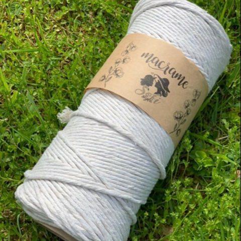 Хлопковый шпагат Светло-серый 10-40 200 м.