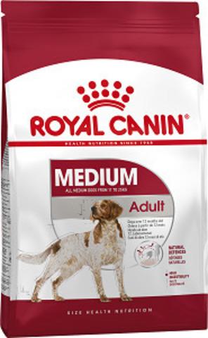 Royal Canin Medium Adult сухой корм для собак средних пород с 12 месяцев до 7 лет