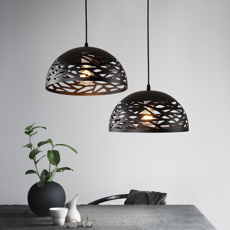 Подвесной светильник Kelly Cluster by Studio Italia Design (черный/полусфера)