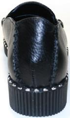 Туфли женские на низком ходу - туфли мокасины