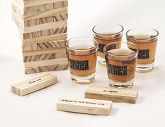 Настольная игра Пьяная башня, Drunken Jenga, фото 3