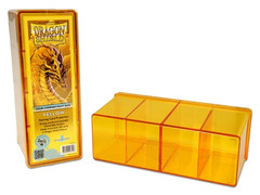 DS Deckboxes: 4-Compartment Yellow