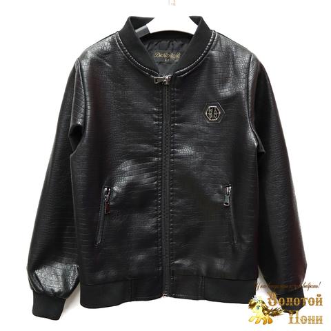Куртка экокожа мальчику (4-10) 200318-W1926.1