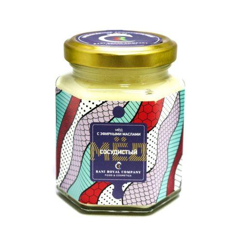 Мёд с эфирными маслами «Сосудистый» 240 г