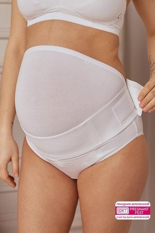 Бандаж для беременных 00128 белый