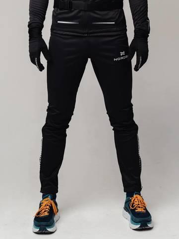 Разминочные брюки Nordski Pro black мужские