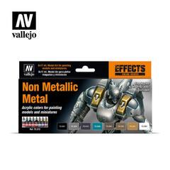 Game Color Set: Non Metallic Metal (8)