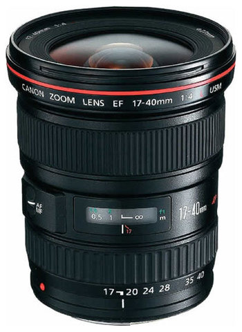 Canon EF 17-40mm f/4L USM (JAPAN)