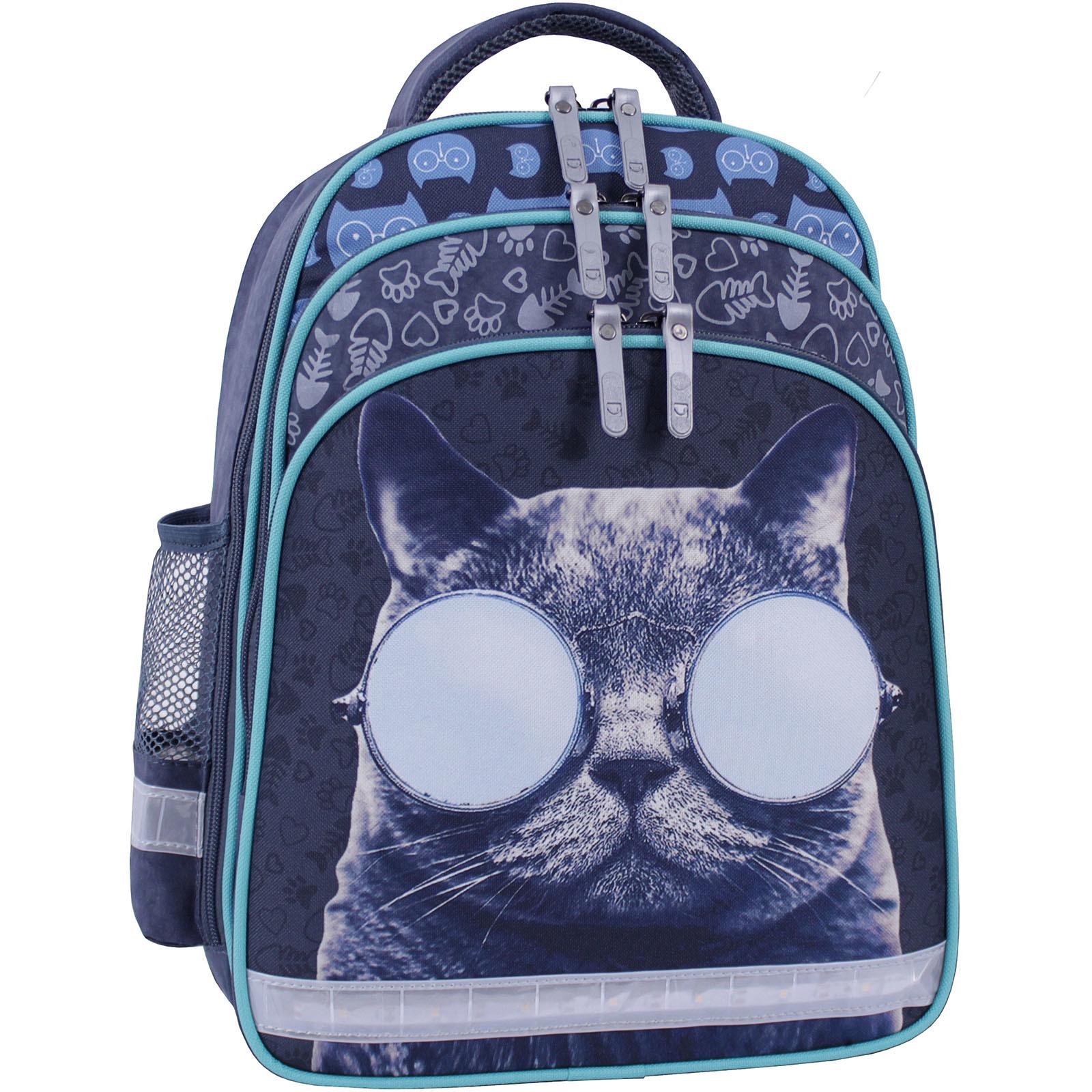 Рюкзак школьный Bagland Mouse 321 серый 611 (0051370) фото 1
