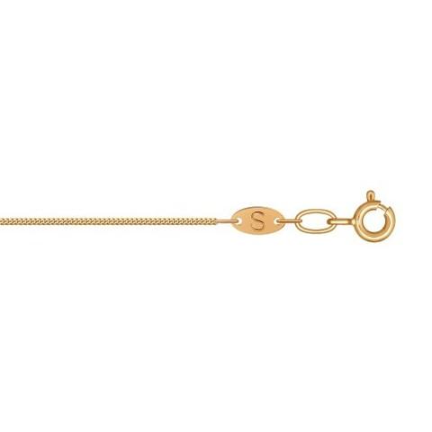 581040302 - Цепь из золота панцирного плетения