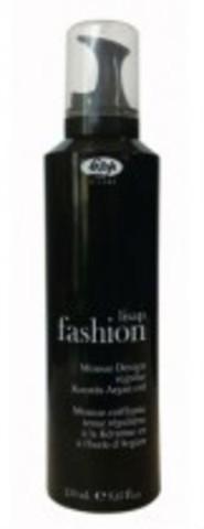 Мусс для укладки волос средней фиксации - Lisap Fashion Mousse Design Regular