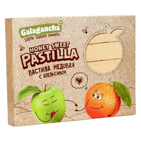 """Пастила """"Galagancha"""" медовая с апельсином 190г"""