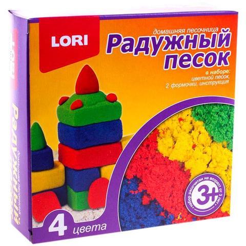 Песок радужный, 4 цвета