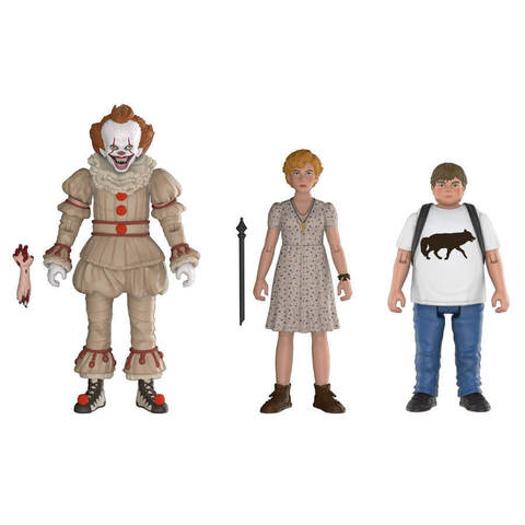 Комплект фигурок ОНО || Funko IT Action Figure 3 Pack - Pennywise, Beverly, Ben