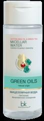 Мицеллярная вода питание безупречное очищение GREEN OILS, 150 мл