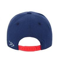 Бейсболка для мальчика с прямым козырьком синяя купить