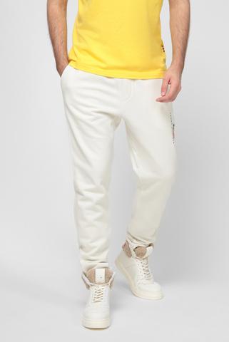 Белые спортивные брюки Lewis Hamilton FLEECE SWEATPANTS Tommy Hilfiger