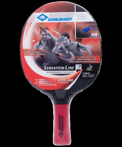 Ракетка для настольного теннисаt Sensation Line Level 600