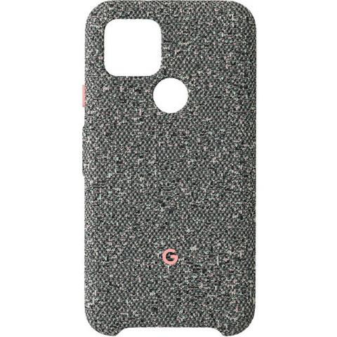 Чехол Google Pixel 5 Fabric Case, Static Gray (неизменно серый)