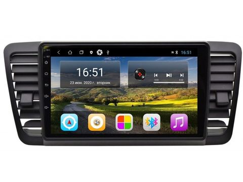 Магнитола для Subaru Legacy/Outback (03-09) Android 11 2/16Gb IPS модель CB-33696T3L