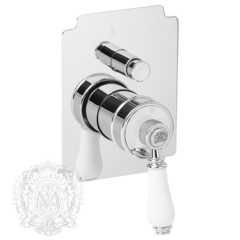 Смеситель для ванны/душа встроенный Migliore Hermitage ML.ERM-7072.BI