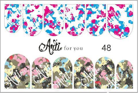 Слайдер наклейки Arti for you №48 купить за 100руб