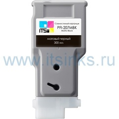 Картридж PFI-207MBK 300 мл
