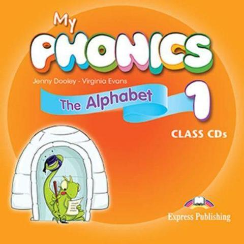 My phonics 1. Τhe Alphabet Class CD (set of 2). Аудио CD для работы в классе (2 шт)