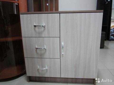 Комод с 3-мя ящиками и створкой КМ-553М Бася