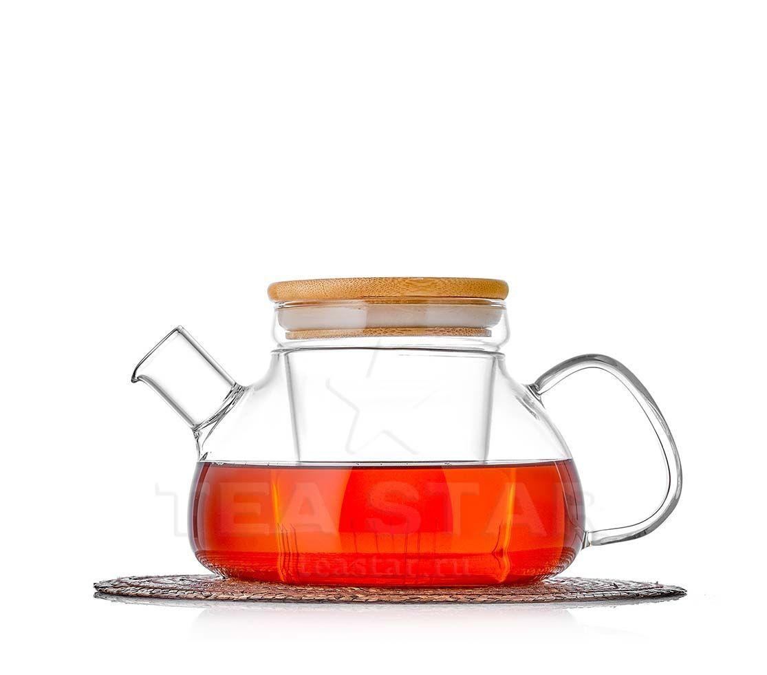 "Заварочные стеклянные чайники Чайник заварочный с колбой ""Бамбук"" 650 мл, стеклянный bambuk_800b.jpg"