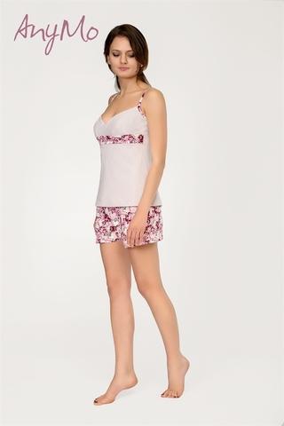 Пижама с шортиками из хлопка Any Mo 6-1706