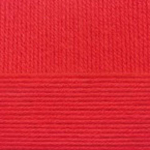 Купить Пряжа Пехорка Детский каприз Код цвета 006-Красный | Интернет-магазин пряжи «Пряха»