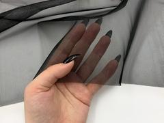 Сетка корсетная черная Lauma (метражом)