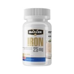Maxler Iron 25 mg Bisglycinate Chelate 90 vegan caps