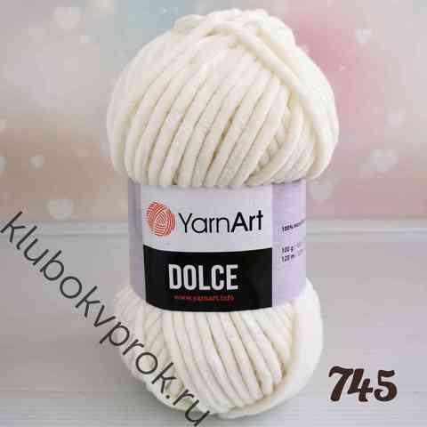 YARNART DOLCE 745, Молочный