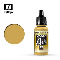 Model air 107-17ml. Us interior yellow