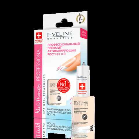 EVELINE Nail Therapy Активатор роста ногтей Укрепляет и восстанавливает ногтевую пластину 12мл